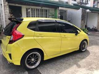 Honda jazz top of the line
