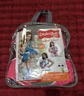 Gendongan Ransel merk Dialogue Baby warna Pink