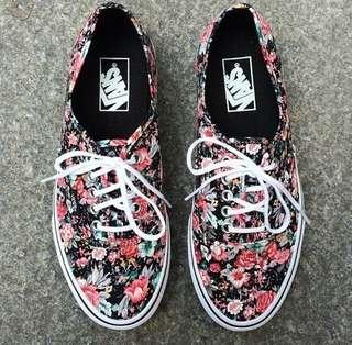 Vans Floral Authentic