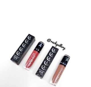 SALE💄Jeffree Star Cosmetics x MannyMUA Collaboration Daddy I'm Shook Matte Lipstick Liquid Lip Velour Swatches