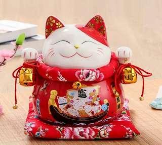 一帆风顺 Fortune Cat gift of Fengshui