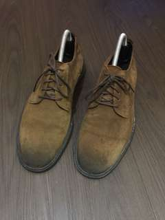 Zara Brown Distressed shoes