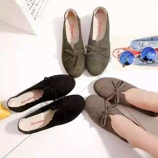 Velvet Peas Covered Flat Shoes