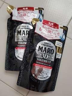 Maro 3D volume up shampoo
