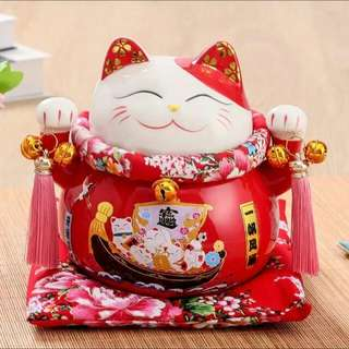 Gift of Fengshui Fortune Cat decor for homes n office