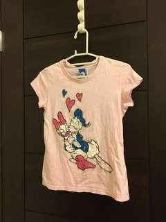🚚 DISNEY NET KIDS 粉紅色短袖上衣
