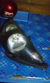 Lampu Jazz GD Headlamp smoke
