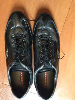 Prada brogue shoes size 9 Us womens