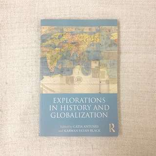 🚚 Explorations In History and Globalisation