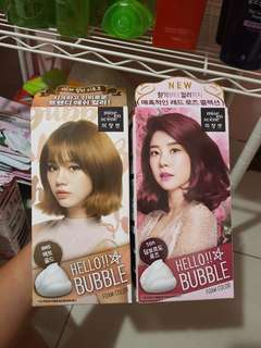 Mise en scene hello bubble foam color