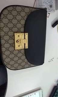 Gucci gg padlock sling bag