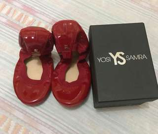 SALE!! FROM 3,795 NOW 1,800 YS RED DOLL SHOES SIZE 6