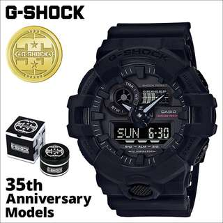Casio Gshock GA-735A-1A 35th Anniversary Limited Editions