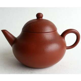 * 020 * ROC Chinese Yixing Zhuni Teapot 民国宜兴朱泥茶壶