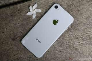 iPhone 8 64GB - Silver New Ready Cicilan Tanpa CC Proses Cepat