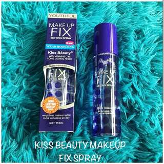 KISS BEAUTY MAKEUP FIX SPRAY