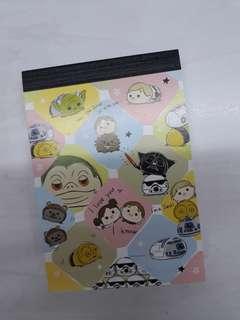 🚚 Starwars Tsum Tsum Notepad