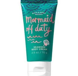 Mermaid Off Duty Seaweed Body Cream