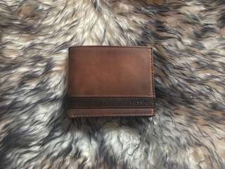 New Fossil Leather Wallet