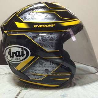 Arai Chronus Yellow