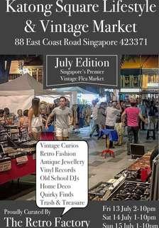 Vintage Flea Market Booths for July 13/14/15