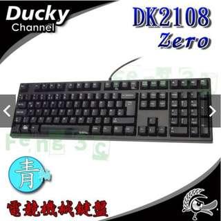 Ducky DK2108 ZERO 青軸機械英文版