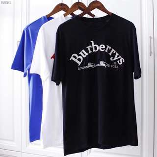 Burberry SS18/18SS Embroidered Logo Tee Shirt