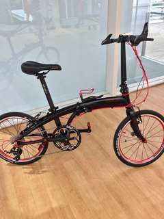 Crius Velocity (9 Speed) Foldable Bike