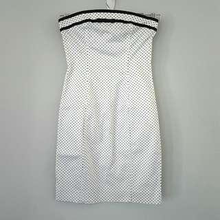 VICTORIA'S SECRET Moda Int'l Polka Dot Tube Dress