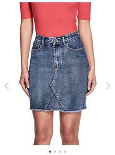 Denim skirt Guess