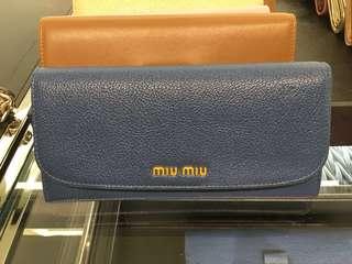 Miu Miu 長銀包 (香港現貨)