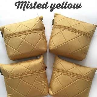Mukena parasut royale misted yellow