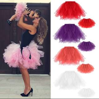Mother and Daughter Tutu Skirt