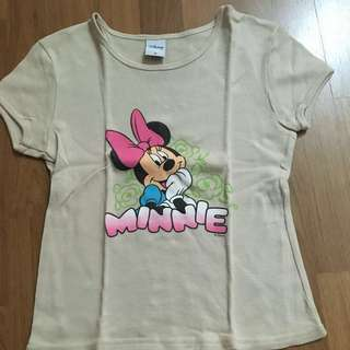 Disney round neck shirt