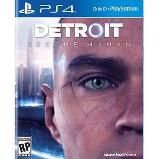 Detroit Become Human Day 1 Theme PS4 DLC Code
