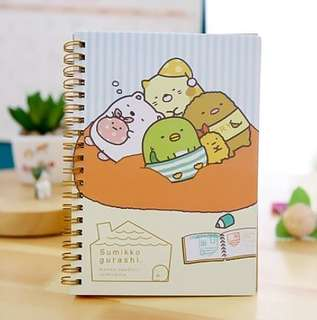 BN Sumikko Gurashi or Rilakumma Hardcover  Notebook @ $4 Only!!!