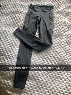 Lululemon Speed Up tight - Grey