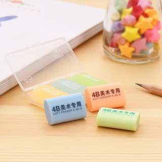 3 in a box 4B erasers @ $1 only!!!