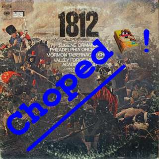 1812 overture Vinyl LP used, 12-inch, may or may not have fine scratches, but playable. NO REFUND. Collect Bedok or The ADELPHI.
