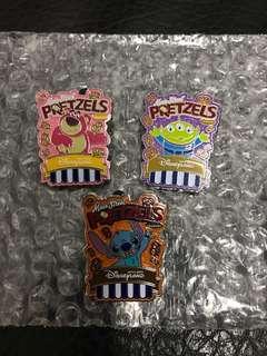 迪士尼爆谷襟章 Disney Popcorn Pin