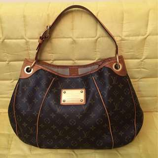LV Handbag 二手 LV Louis Vuitton Galliera PM 有單有塵袋
