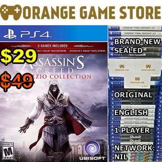 PS4 Assassin's Creed Ezio Collection