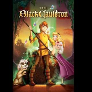 [Rent-A-Movie] THE BLACK CAULDRON (1985) [MCC004]