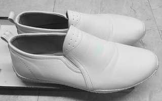 Zalora White Faux Leather Shoes Men US10