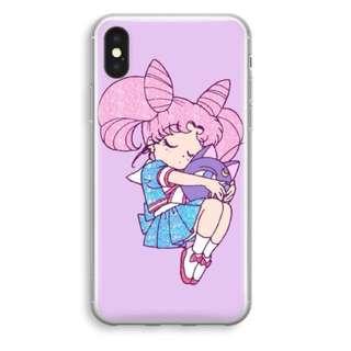 Chibiusa Sailor Moon iPhone X Soft Plastic Case/Cover