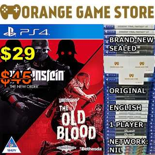 PS4 Wolfenstein Dual Pack