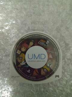 PSP UMD Naruto Shippuden Legends Akatsuki Rising US Version
