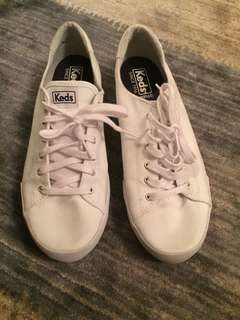 PRICE REDUCED Keds White size 9