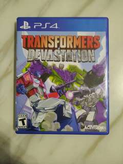 PS4 Transformers Devastation (Used)