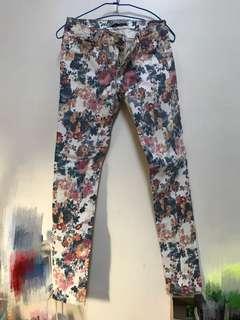 🚚 Flower pants /女花褲